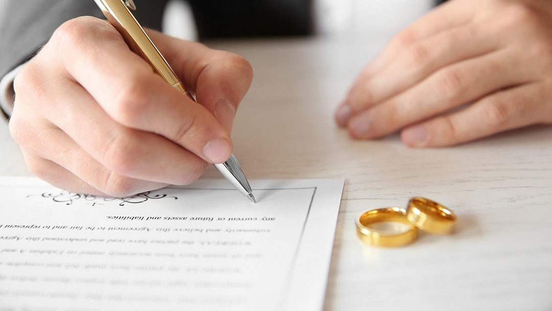 The Ante Nuptial Contract